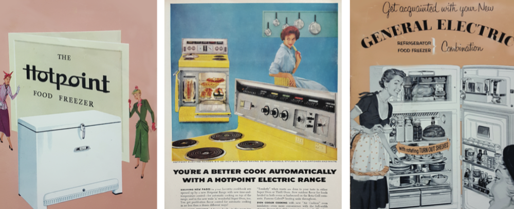 Vintage Appliance Ads