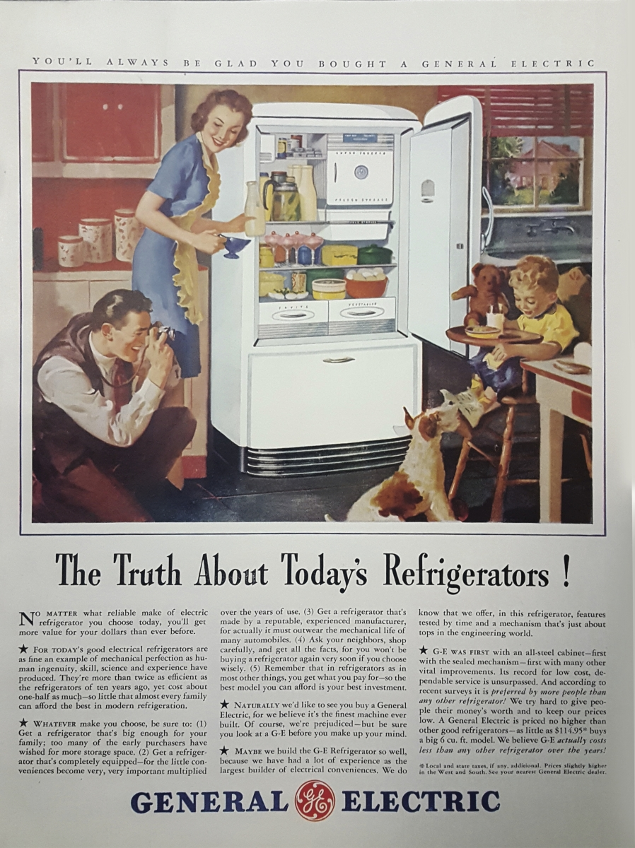 Visit Redwood Appliance Center To Get A Look At Advertising Of The Past Our Vintage Ad Collection Is One Kind